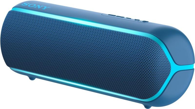 Sony SRS-XB22 Bluetooth Speaker(Blue, Stereo Channel)