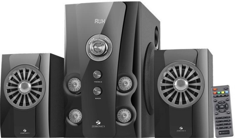 Zebronics HOPE 2.1 40 W Bluetooth Home Audio Speaker(Black, 2.1 Channel)