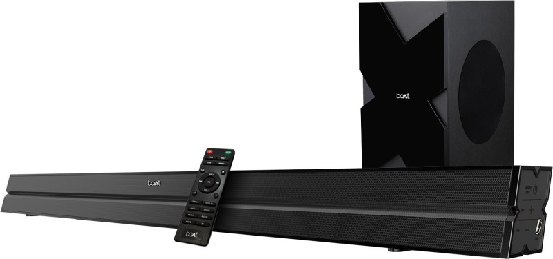 boAt Aavante Bar 1550 120 W Bluetooth Soundbar(Premium Black, 2.1 Channel)