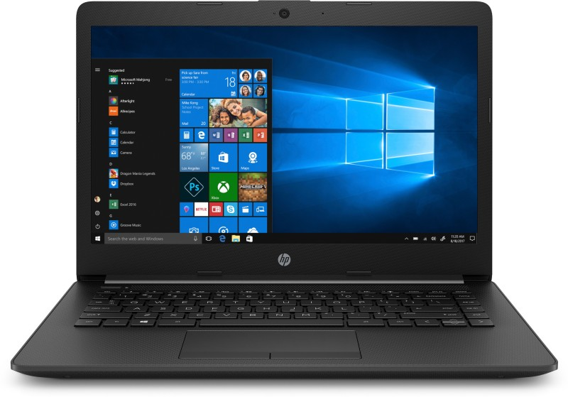 HP 14q APU Dual Core A4 - (4 GB/256 GB SSD/Windows 10 Home) 14q-cy0005AU Thin and Light Laptop(14 inch, Jet Black, 1.47 kg)