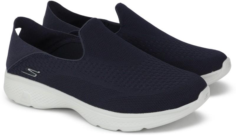 Skechers GO WALK 4 CONVERTIBLE Walking Shoes For Men(Navy)