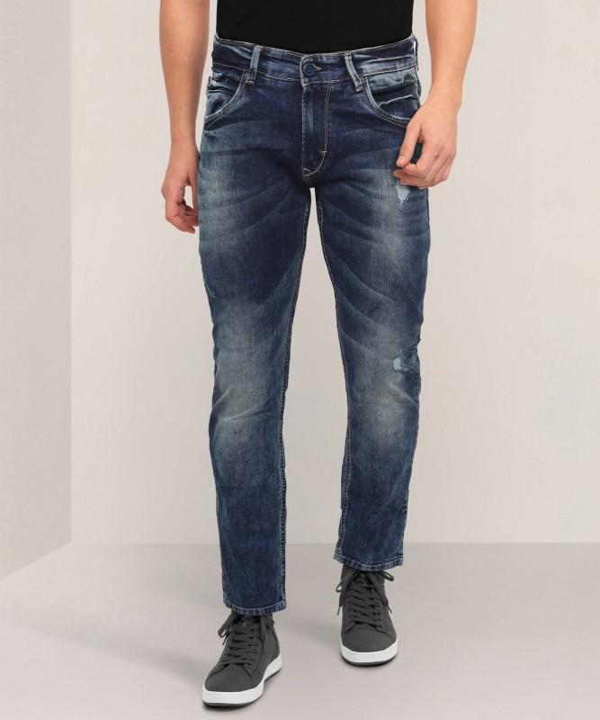 Spykar Skinny Men Blue Jeans
