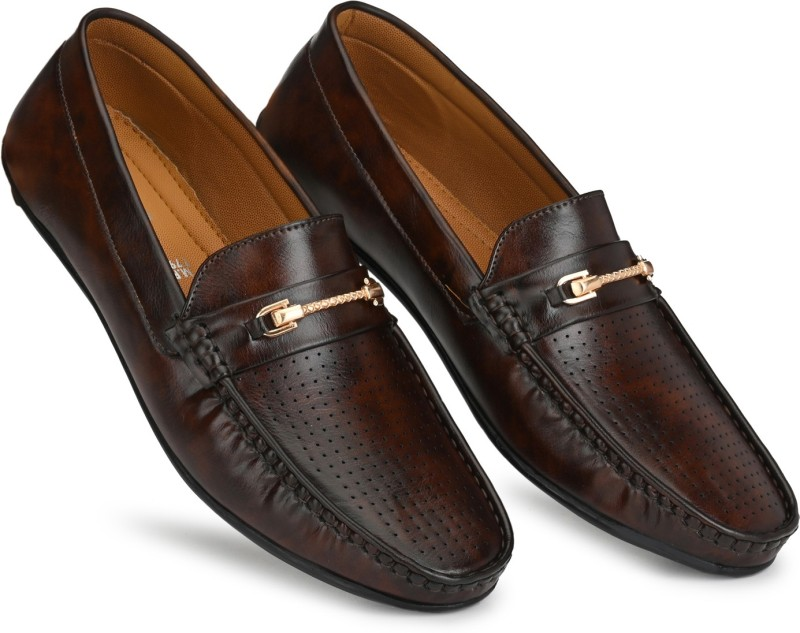 Prolific Gold Series Slip On For Men(Brown)