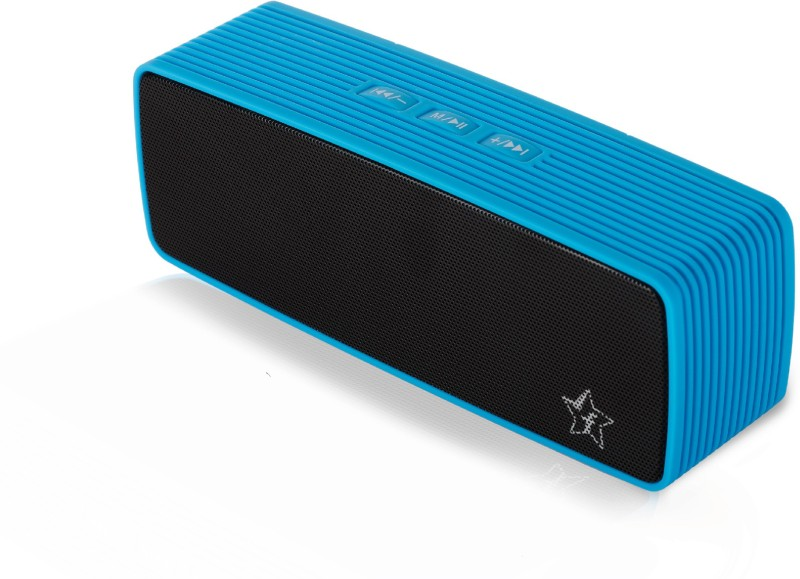 Flipkart SmartBuy 6W Powerful Bass Bluetooth Speaker(Blue, Stereo Channel)