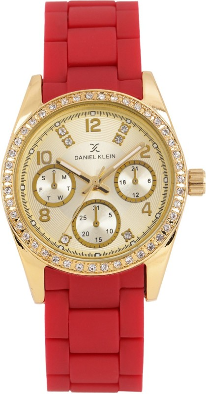 Daniel Klein DK10843-3 Analog Watch - For Women
