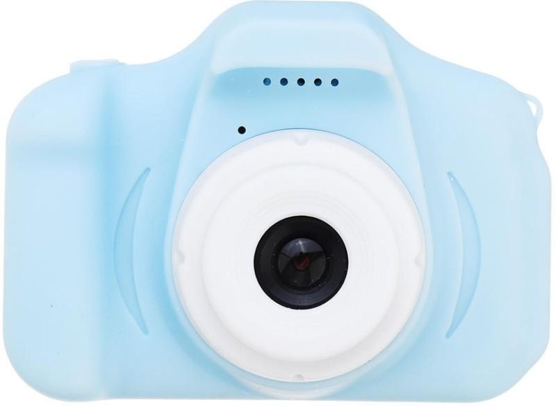 dkian Digital Kids camera 20MP 1080P with 32GB Memory Card Mini Mirrorless Camera(Blue)