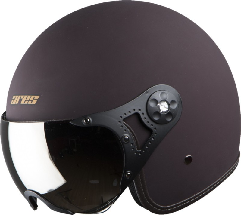 Steelbird Ares A-5 Aviator RB2 Motorbike Helmet(Royal Brown)