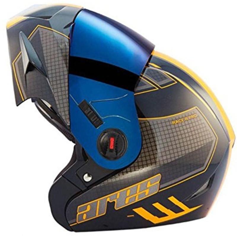 Steelbird Ares A-1 RACE GB45 Motorbike Helmet(Glossy Black)