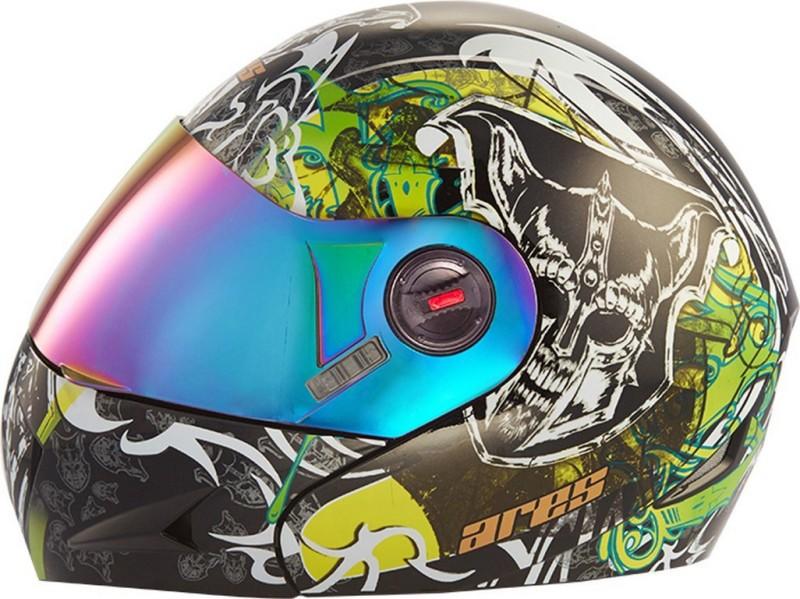 Steelbird Ares A-1 Devil MB1 Motorbike Helmet(Glossy Black)