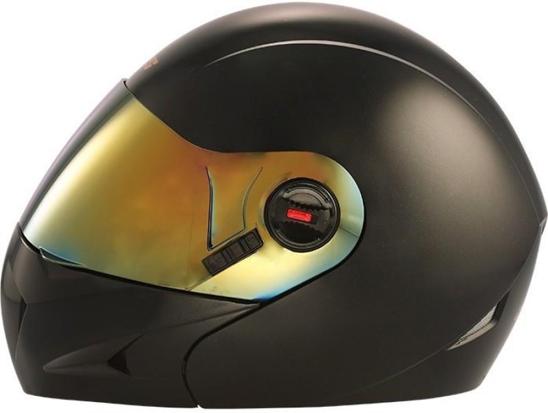 Steelbird Ares A-1 MB1 Motorbike Helmet(Matt Black)