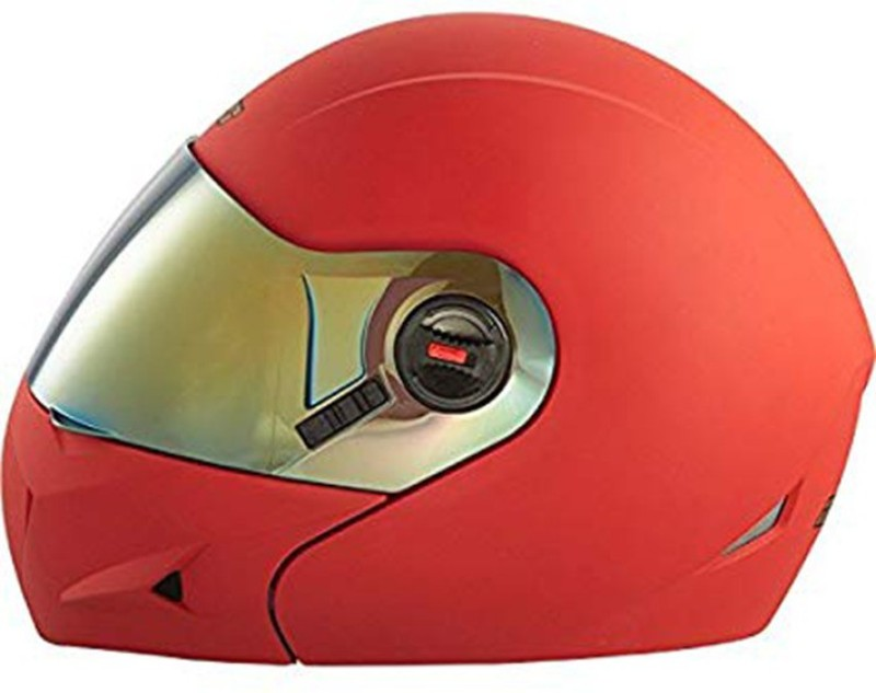Steelbird Ares A-1 MR1 Motorbike Helmet(Matt Red)