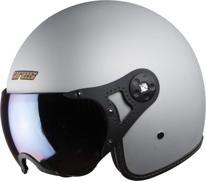 Steelbird Ares A-5 Aviator S1 Motorbike Helmet(Silver)