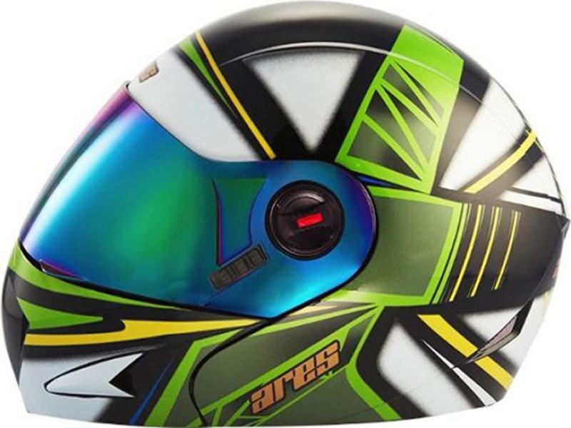 Steelbird Ares A-1 Stroke MBH Motorbike Helmet(Matt Black)
