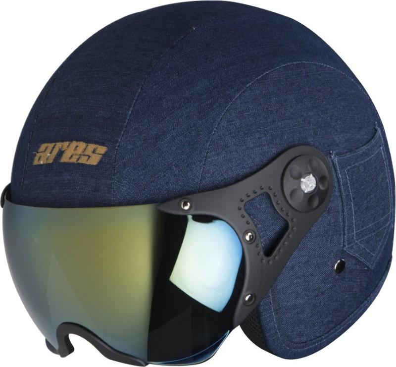 Steelbird Ares A-5 Admiral M3 Motorbike Helmet(Crome Mercury)