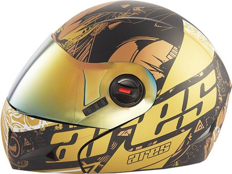 Steelbird Ares A-1 Royal GB123 Motorbike Helmet(Glossy Black)