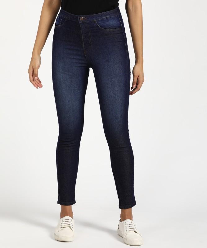 Flying Machine Slim Women Dark Blue Jeans