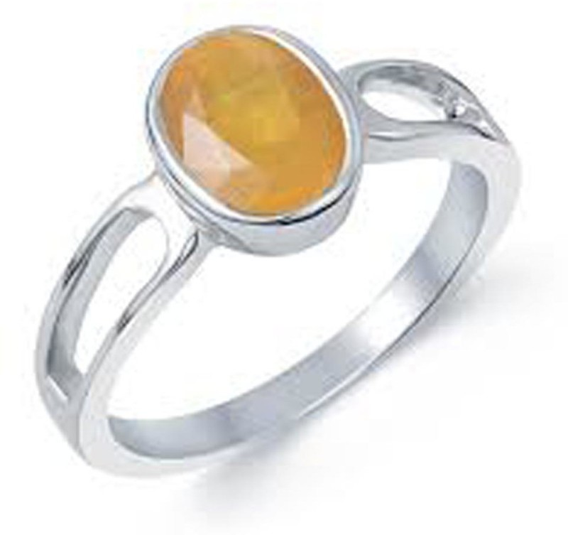Gems Jewels Online Loose Stone Ceylon Sri Lanka Yellow Sapphire – Pukjraj Copper Sapphire Ring