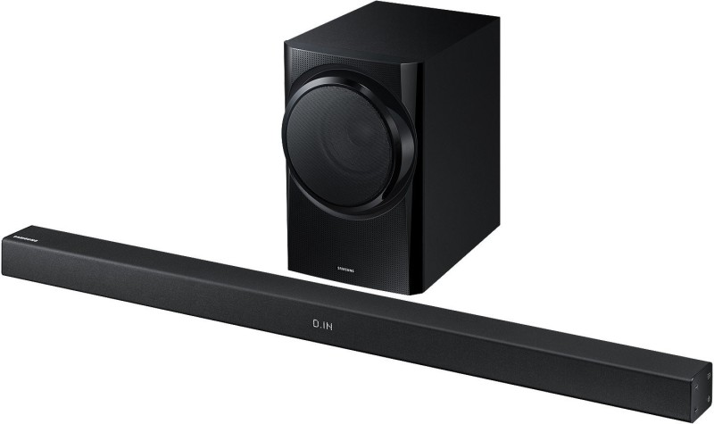 Samsung HW K350/XL 150 W Dolby Bluetooth Soundbar(Black, 2.1 Channel)
