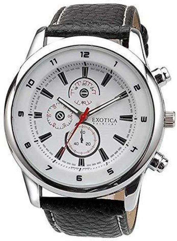 Exotica Fashions EFG-15-W-LB Analog Watch