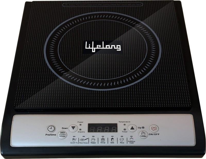 Lifelong LLIC20 Induction Cooktop(Black, Grey, Push Button)
