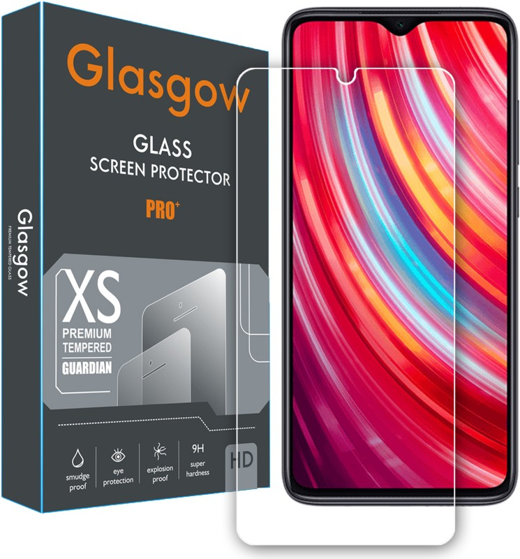 Glasgow Edge To Edge Tempered Glass for Mi Redmi Note 8 Pro(Pack of 1)