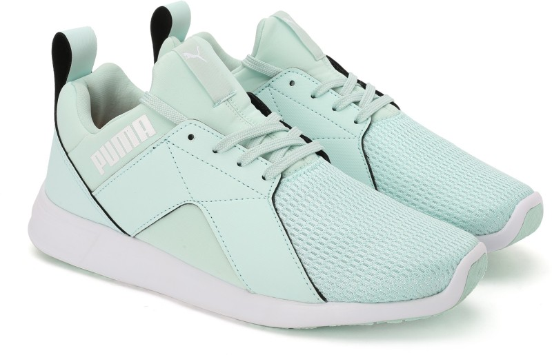 Puma Zod Runner NM Wns IDP Running Shoes For Women(Green)
