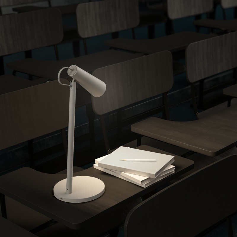 Mi Rechargeable LED Table Lamp(32.8 cm, White)