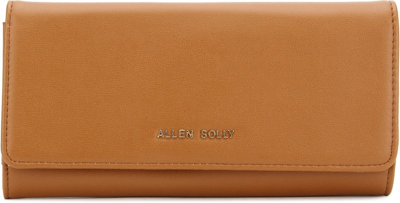 Allen Solly Casual Tan  Clutch