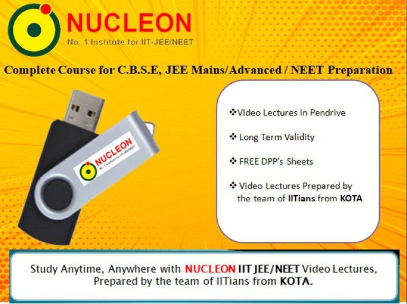 NUCLEON Complete Mathematics Class 11+12 (C.B.S.E .LEVEL) for IIT JEE by Renu Ma'am(USB)
