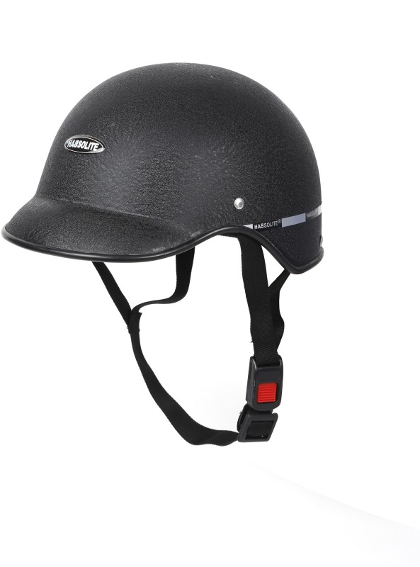 MOTOFY HABSOLITE ALL PURPOSE Motorbike Helmet(Black)