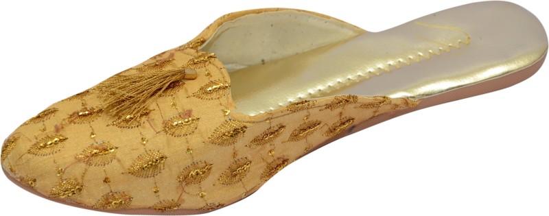 TARGET GOLD Women Yellow Flats