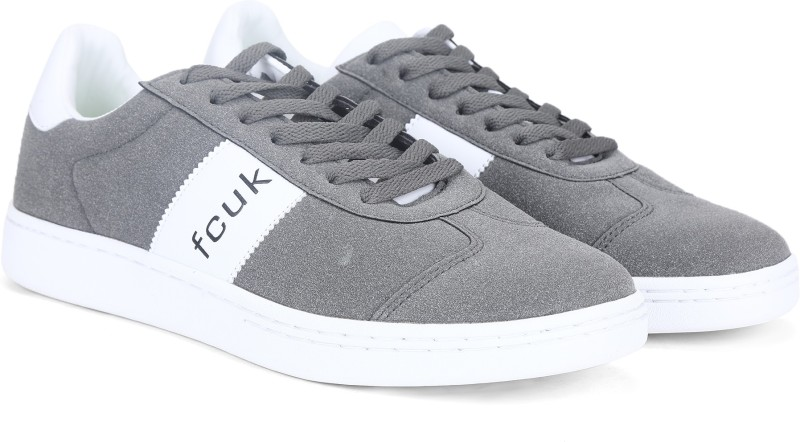 French Connection Sneakers For Men(Grey)