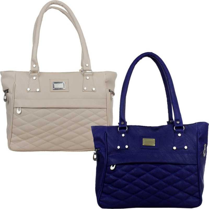 Online Hub Women Multicolor Hand-held Bag