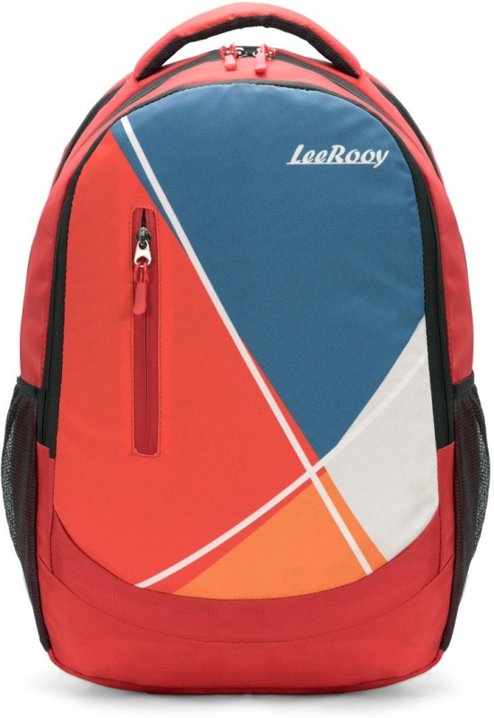 LeeRooy BG18RED02 Waterproof Backpack(Red, 28 L)