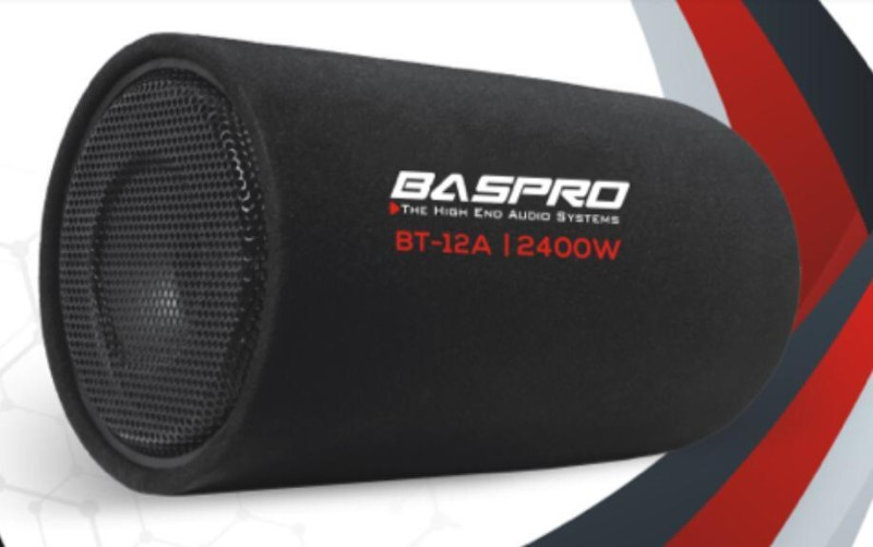"BASPRO BT-12A 12"" ACTIVE BASS TUBE Subwoofer(Powered , RMS Power: 150 W)"