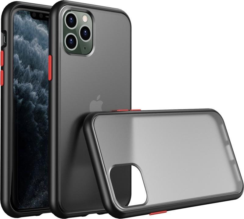 Tommcase Back Cover for Apple Iphone 11 Pro Max(Matte Black)