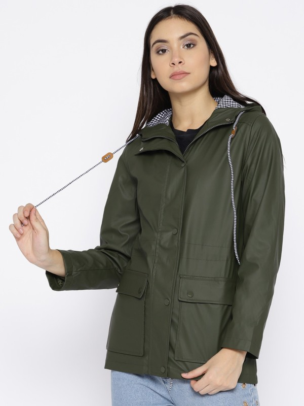 AND Full Sleeve Solid Women Jacket
