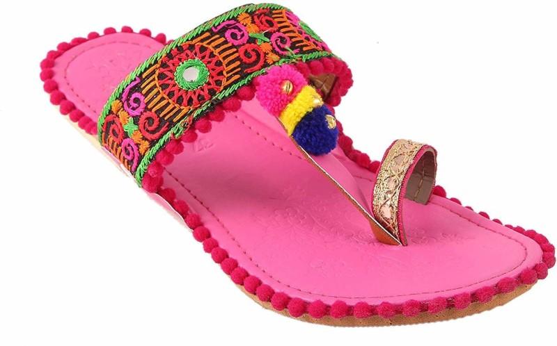 TARGET GOLD Women Pink Flats