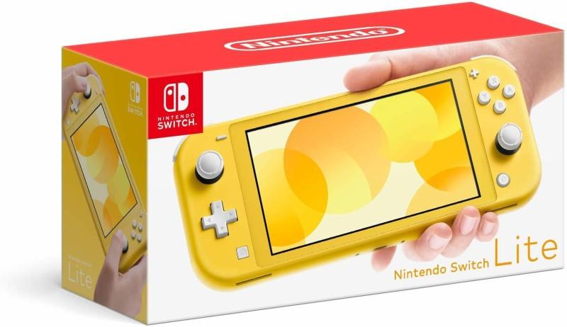 Nintendo Switch Lite - Yellow 500 GB(Yellow)