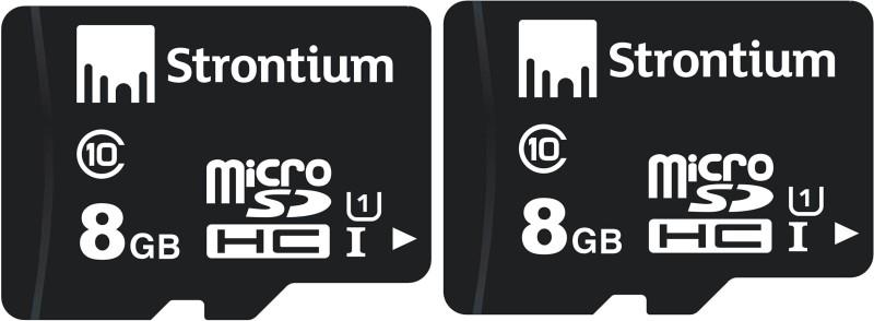 Strontium 8GB MICROSD 48MB/S 8 GB MicroSD Card Class 10 48 MB/s Memory Card