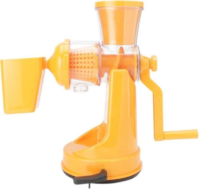 Modernshop Hand Juicer Grinder Fruit And Vegetable Mixer Juicer PA00124 0 Juicer Mixer Grinder(Orange, 1 Jar)