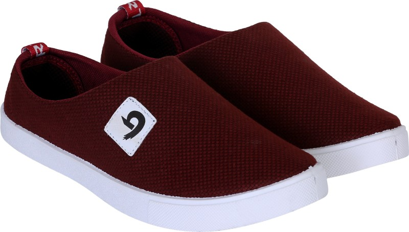 Navchetan Best Selling Casual Shoes & Loafer & Sneaker Shoes (Lace-Ups,Slip_On) Party Wear Shoes & Canvas Shoes For Men's & Boy's For Men(Red)