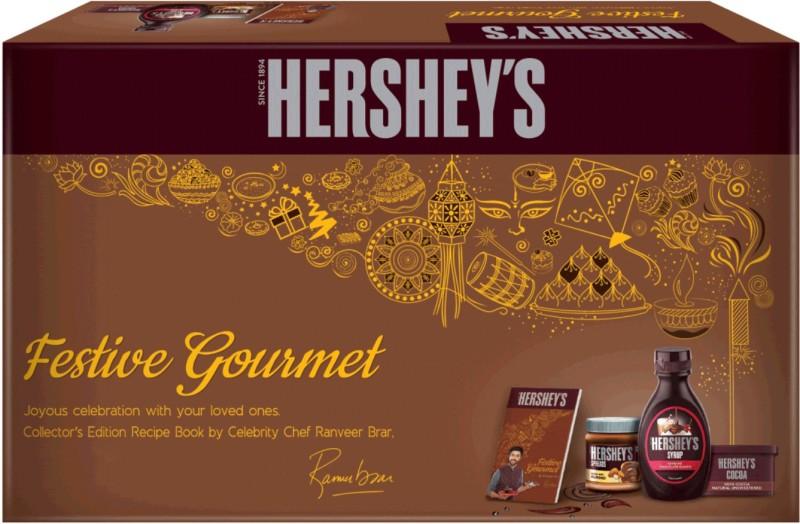 Hershey's Chocolate and Syrup Gift Box Combo(420 g)