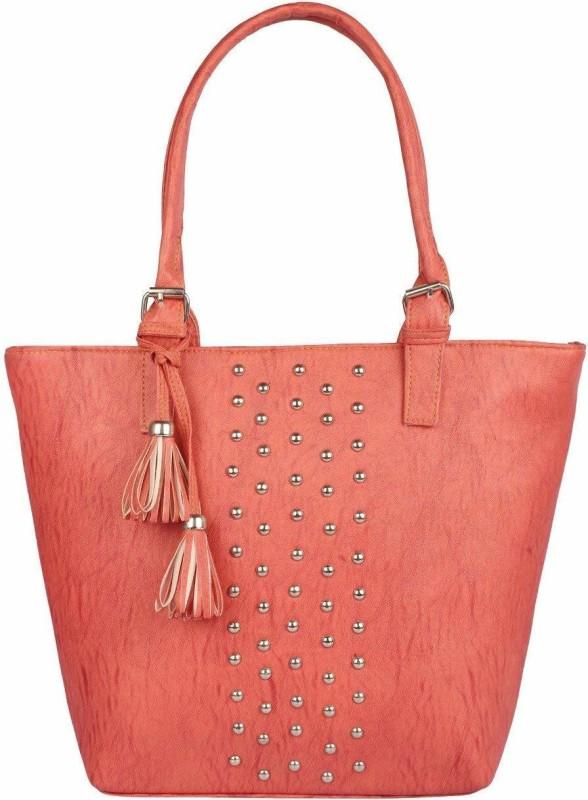 HZB Collection Women Orange Handbag
