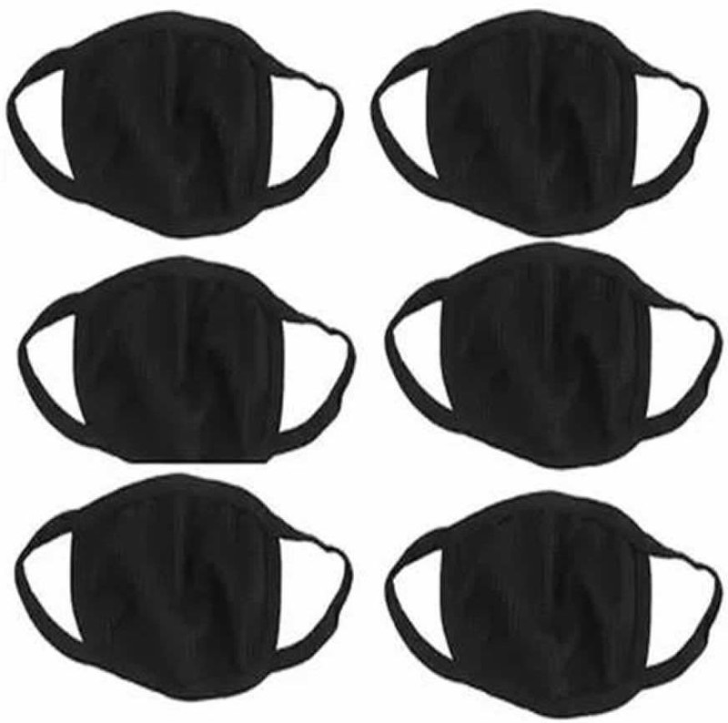 QTSY Mask_6 Comfy Dust Cotton Mouth Nose Cover Mask_6 Comfy Dust Cotton Mouth Nose Cover For Bikers Anti-pollution Mask Respirator