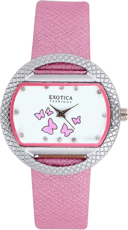 Exotica Fashions EFL-09-Pink Basic Analog Watch - For Women
