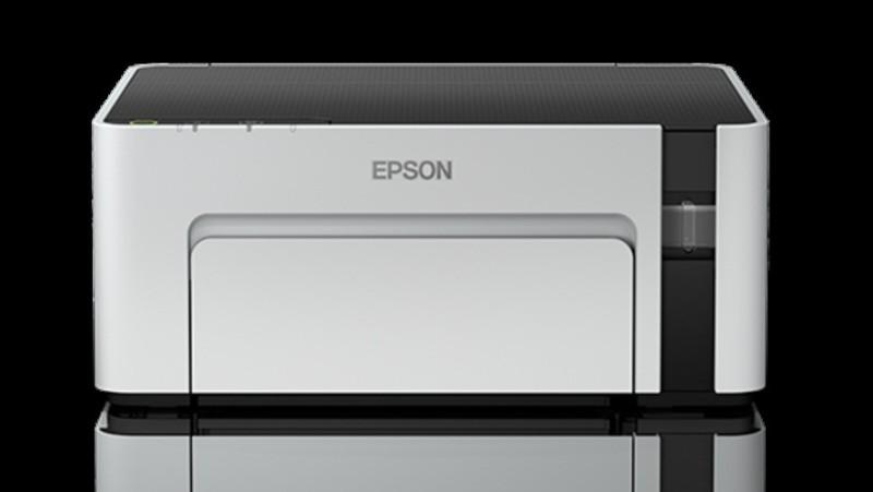 Epson EcoTank M1100 Single Function Monochrome Printer(White, Refillable Ink Tank)