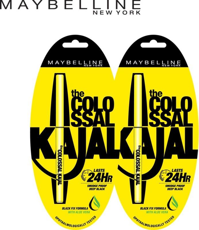 MAYBELLINE NEW YORK Colossal Kajal Promo(Black, 0.7 g)