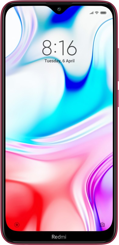 Redmi 8 (Ruby Red, 64 GB)(4 GB RAM)
