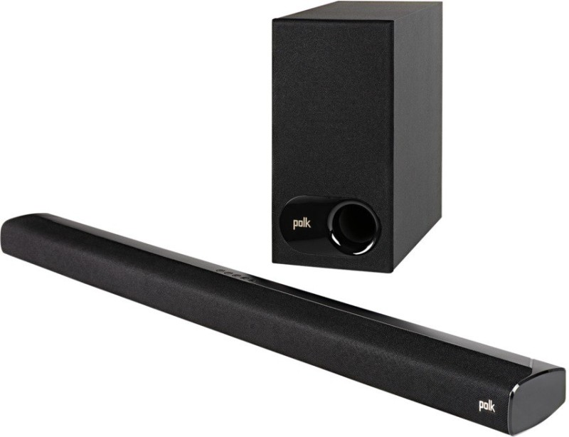 Polk Audio Signa S2 Dolby Digital with HDMI ARC 120 W Bluetooth Soundbar(Black, 2.1 Channel)